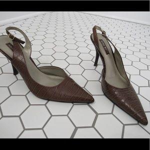 Nine West heels.